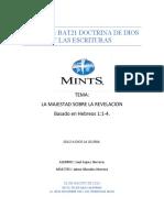 ENSAYO DOCTRINAS DE LA GRACIA