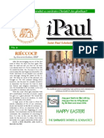 iPaul no. 2  - Saint Paul Scholasticate Newsletter