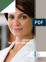 Repertoire Des Metiers CNFPT