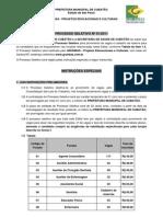 Edital Prefeitura de Cubatão - São Paulo - 250 Vagas