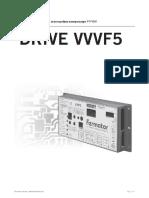 Instruktsiya Podklyucheniya Privoda Dverei Kabiny Fermator Model Vvvf5