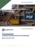 Sistemas de Despoeiramento Redução - Treinamento Operacional
