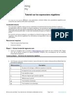 12.2.2.9 Lab - Regular Expression Tutorial