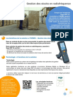 Fiche Gestion Stock Radio Frequence 201506