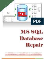 MS SQL Database Repair