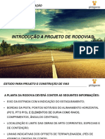 Estradas - Aula 4 - Projeto