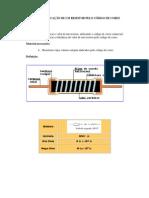 Tabela de Cores - Resistores