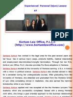 Personal Injury Lawsuit Guidelines by Santana Kortum