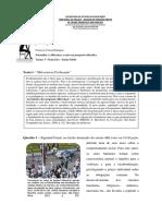 Psicanálise e Diferença - Atividade II - Filosofia - Cristian
