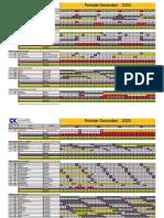 Roster Periode Desember 2020 SITARUM