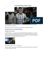 16-03-11 C.I.A. Security Officer Is Freed in Pakistan as Redress Is Paid