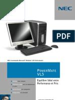 PC NEC POWERMATEVL5fr