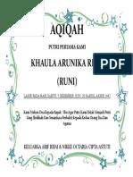 AQIQAH
