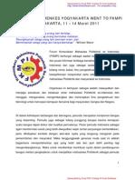 Laporan singkat fkmpi di Jakarta II
