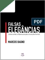 Falsas elegâncias_Marcos Bagno