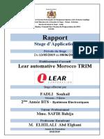 Page de Garde Rapport Du Stage 2ème Année 2018