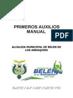 MANUAL DE PRIMEROS AUXILIOS AMBA