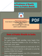 PROBLEMS IN HEALTH CARE DELIVERY.SHIMLA.18.5.2010