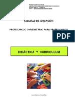 Unidad 1 Didactica y curriculum