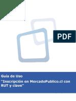 Guia de Uso Inscripción en Chilecompra