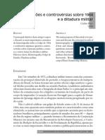 FICO, Carlos. Versões e controvérsias sobre 1964 e a ditadura militar