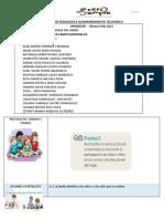 Planeacion Pedagogica  10,11,12,13 Y 14 DE MAYO 2021