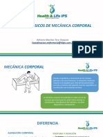 Presentacion Mecanica Corporal