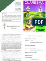 Diptico - Retiro Cuaresma Catequistas 2011 (1)