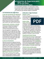 Ferramentas de Segurança (TTRPG Safety Toolkit Guide v2.3 - brazilian portuguese)