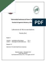 Microcontroladores - Practica 1