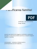 planificarea familiei