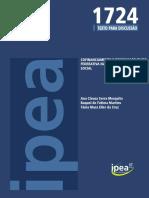 2012_IPEA_Cofinanciamento e Responsabilidade Federativa Na Política de Assistência Social