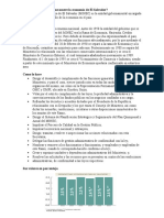 Cuál es el ministerio que mueve la economía de El Salvador