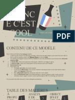 La France C'Est Cool by Slidesgo