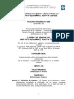 Resolucion IGAC 2555-1988 ZONAS HOMOGENEAS