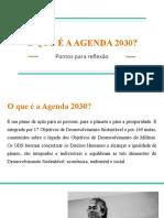 o Que é a Agenda 2030