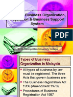 Common Forms of business