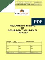 REGLAMENTO INTERNO SST-CONSTRUCTED RYD SAC 2021