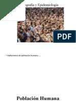 Demografía y Epidemiología