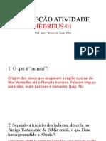 Correção Hebreus Parte 1