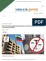 No se reconoce sustitución de patrono en caso de adquisición forzosa de contratista de PDVSA │ Acceso a la Justicia