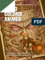 Ebook Como Colorir Animes