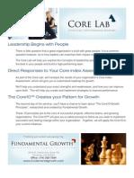 Core Lab Onesheet