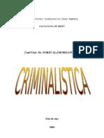 Note de Curs la Criminalistica