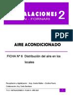 Ficha N° 7 Distribución del aire
