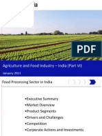 Agriculture and Food Industry in India 2011 - Food Processing Sector