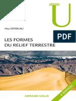 Les Formes Du Relief Terrestre_ Notions de Géomorphologie