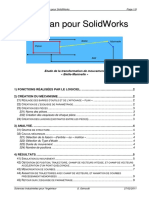 Mecaplan pour SolidWorks - Stephane Genouel.