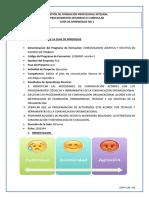 1. GUIA  COMUNICACION ASERTIVA