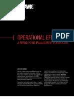 Operational Efficiency